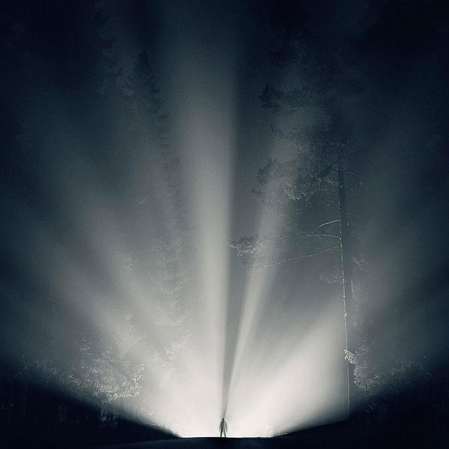 C'est de toute beauté : sites et lieux magnifiques de notre monde. Stars-night-sky-photography-self-taught-mikko-lagerstedt-5