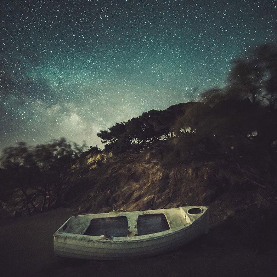 C'est de toute beauté : sites et lieux magnifiques de notre monde. Stars-night-sky-photography-self-taught-mikko-lagerstedt-6