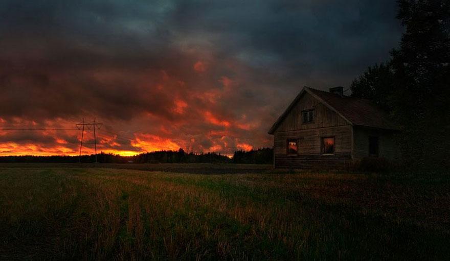C'est de toute beauté : sites et lieux magnifiques de notre monde. Stars-night-sky-photography-self-taught-mikko-lagerstedt-7