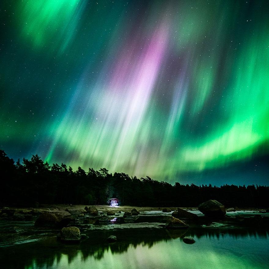 C'est de toute beauté : sites et lieux magnifiques de notre monde. Stars-night-sky-photography-self-taught-mikko-lagerstedt-8