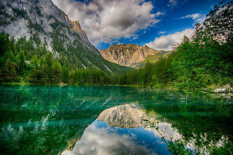 Le Grüner See, un lac qui a la particularité d'être…éphémère Gr%C3%BCner_See