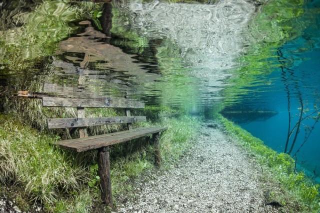 Aucun trucage dans ces photos incroyable du lac Grüner See Gruner-See-6-640x426