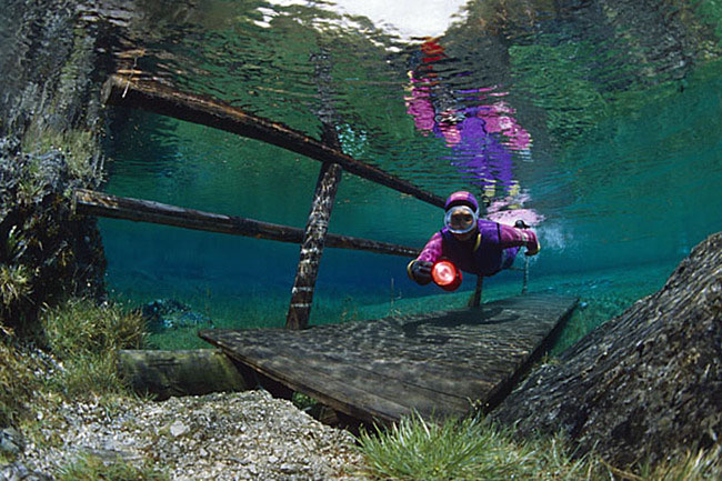 Aucun trucage dans ces photos incroyable du lac Grüner See Le-lac-Gruner-See-Etat-de-Styrie-Autriche-photo-05