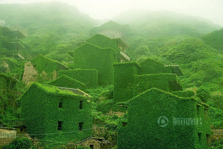 C'est de toute beauté : sites et lieux magnifiques de notre monde. Abandoned-fishing-village-goqui-island-shengsi-zhoushan-china-tang-yuhong-14