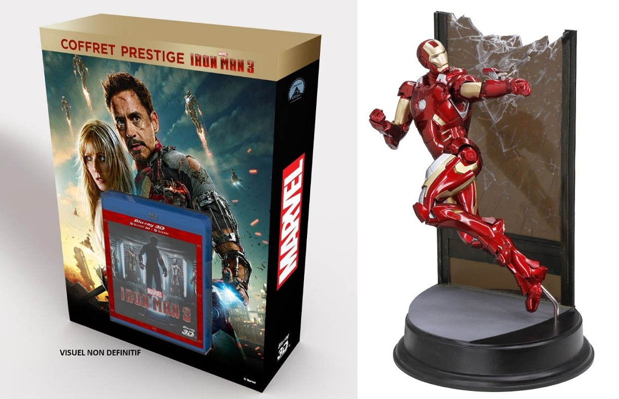 Planning Des Editions collector Blu-ray/DvD COFFRET-iron-man-3-collector-blu-ray