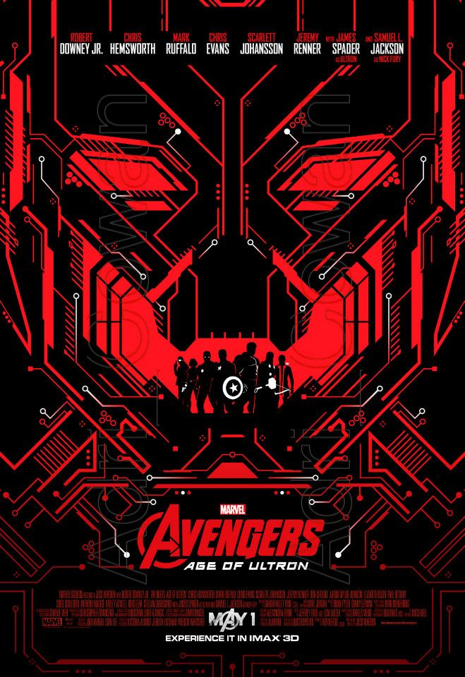 Avengers : L'Ère d'Ultron [Marvel - 2015] - Page 11 Avengers-age-of-ultron-poster-ultronunleashed