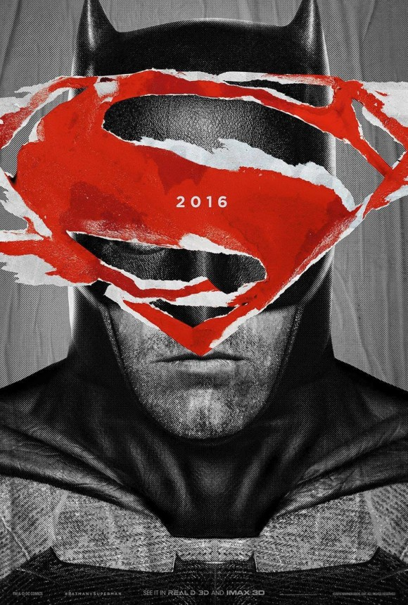 BATMAN VS SUPERMAN : L'AUBE DE LA JUSTICE - Page 11 Batman-v-superman-poster-superman-batman-580x859
