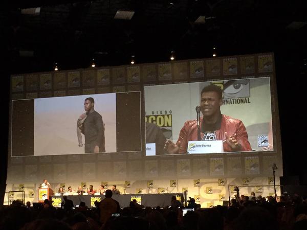 Star Wars : Le Réveil de la Force [Lucasfilm - 2015] Star-wars-the-force-awakens-comic-con-panel-finn