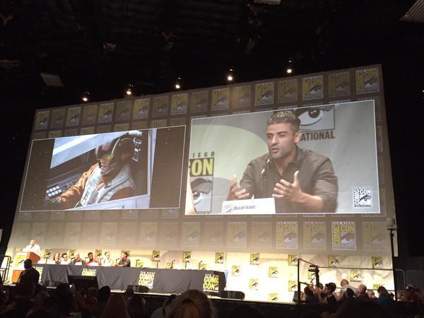Star Wars : Le Réveil de la Force [Lucasfilm - 2015] Star-wars-the-force-awakens-comic-con-panel-isaac