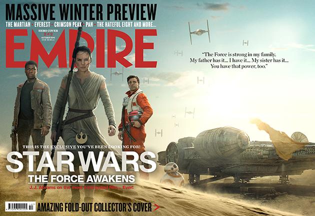 Star Wars : Le Réveil de la Force [Lucasfilm - 2015] Rey-finn-poe-cover-empire-star-wars