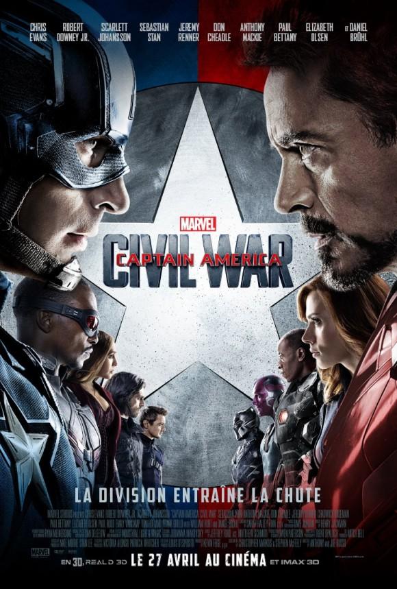 CAPTAIN AMERICA CIVIL WAR  - Page 10 Captain-america-civil-war-affiche-francaise-580x859