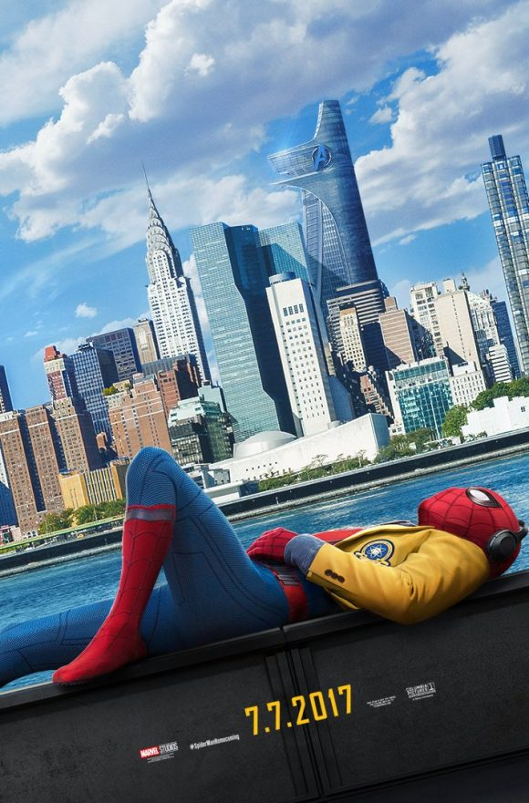 Spider-Man : Homecoming [Marvel - 2017] - Page 3 Poster-spider-man-homecoming-580x881