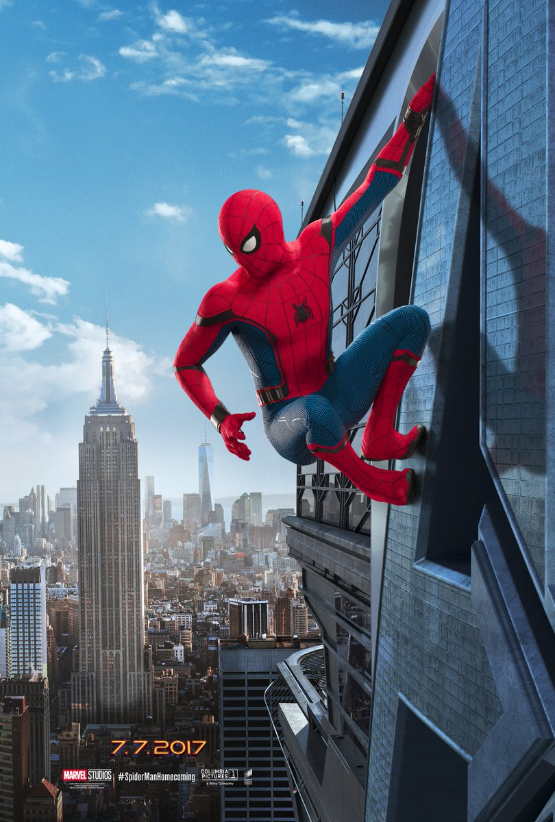 Spider-Man : Homecoming [Marvel - 2017] - Page 3 Spider-man-homecoming-affiche