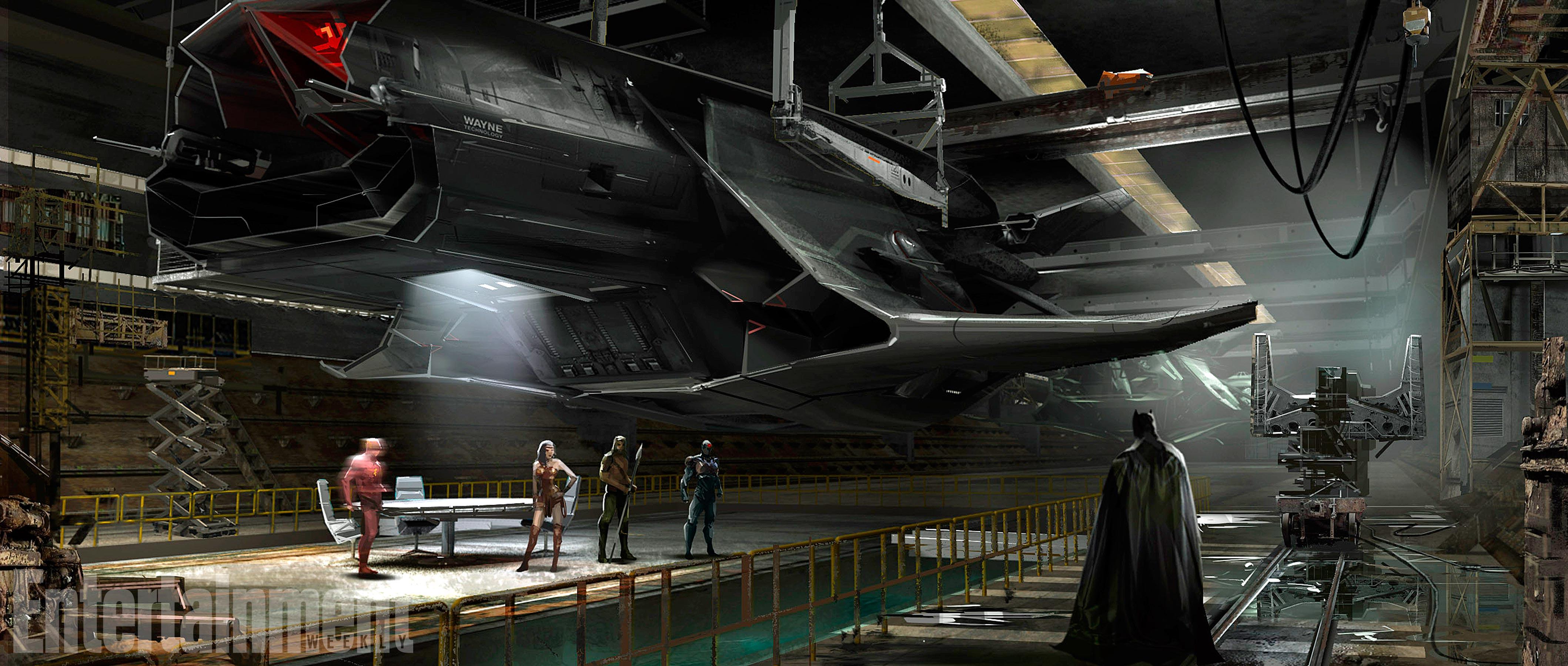 [Animation 4ML] Batfamily Returns [Batverse, LIBRE] Flying-fox-concept-art
