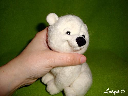 МК по валянию медвежонка Снежка Mk48