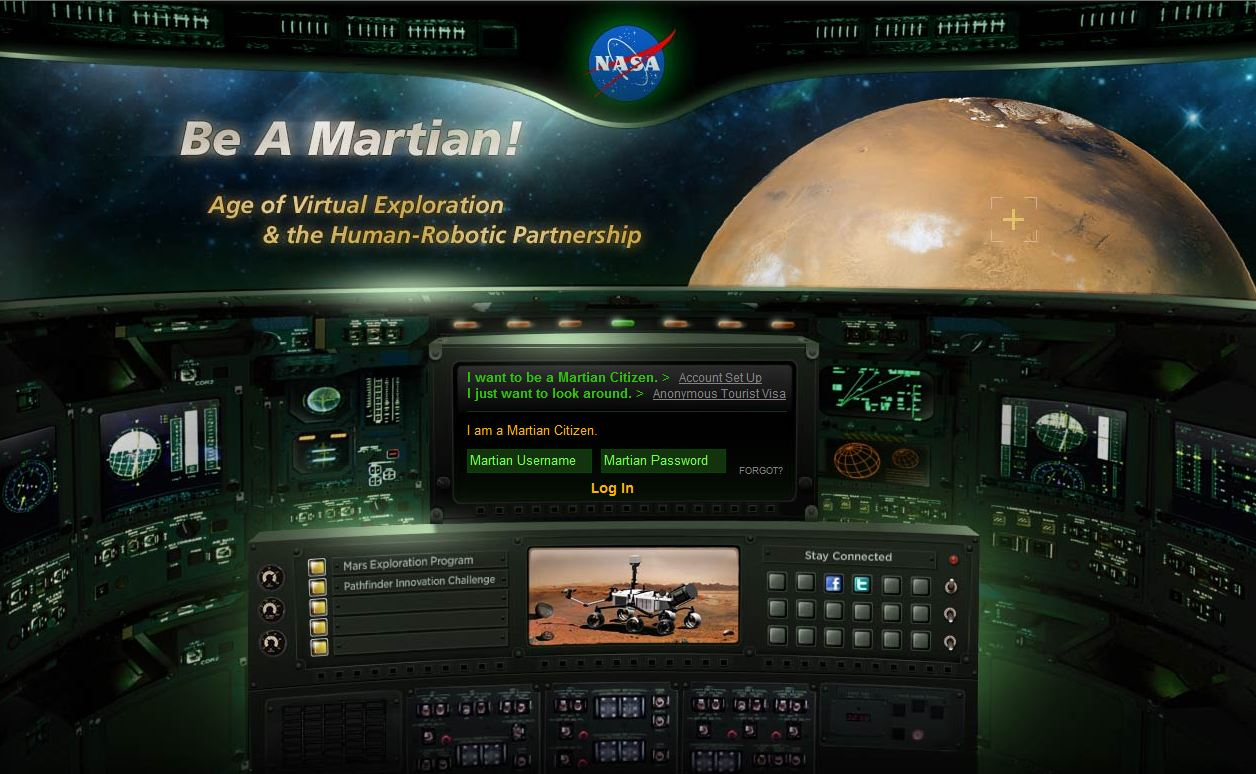 Astronomie et Astronautique (all the space you need !) Nasa-be-a-martian