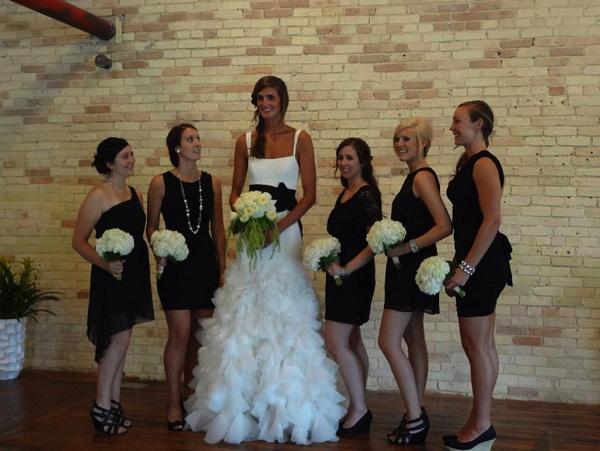 Mujeres muy altas y gigantas La-novia-mas-alta-real