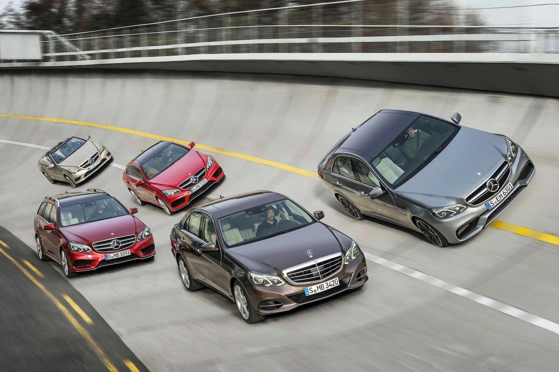 La Mercedes-Benz E63 AMG réstylée 2013 (W212) 2014-Mercedes-Benz-E63-AMG-3%25255B4%25255D
