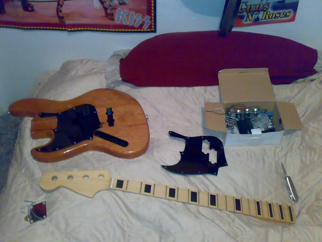 Jazz Bass (LH) feito Pelo Luthier Cavalheiro 19112010311