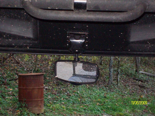 Rear View Mirror for 09 RZR S SANY2391