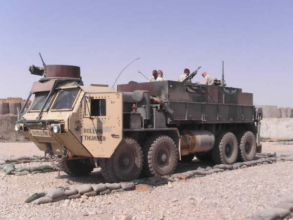 review du HEMTT gun truck (italeri 1:35) The_Battleship1