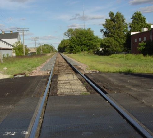 Down The Tracks MISCtrainHampshireElooking