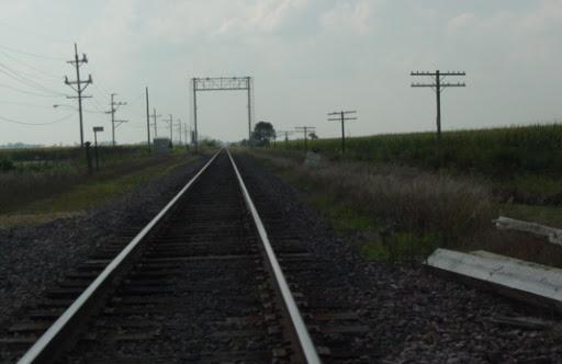 Down The Tracks MISCtrainWalkerWlooking
