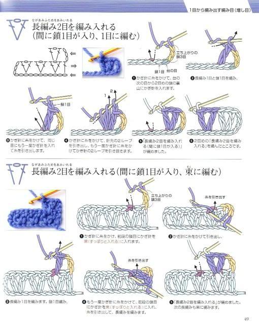 Những mũi MÓC (2) Crochet46