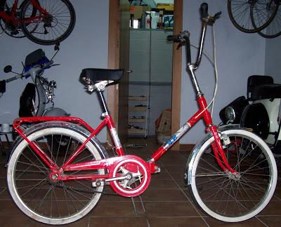 Restaucación de bicicleta BH plegable 20´ 100_2767