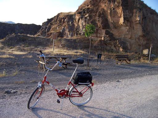 Restaucación de bicicleta BH plegable 20´ 100_3122
