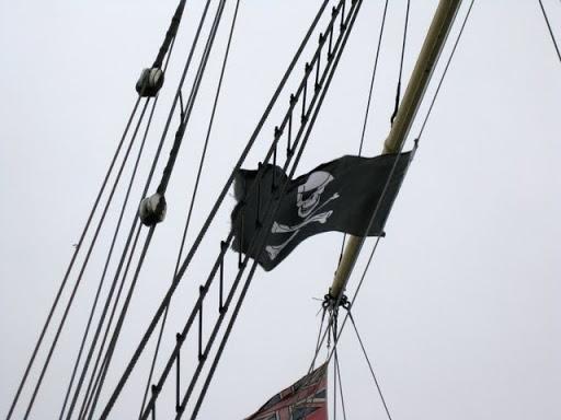 """Nome que carrega muita história, """"Jolly Roger"""" ... IMG_4149"""