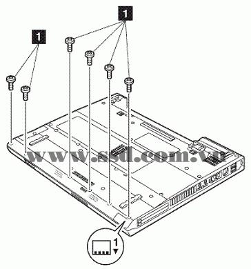 Hướng dẫn tháo lắp LAPTOP IBM™ ThinkPad T IBMp2_9