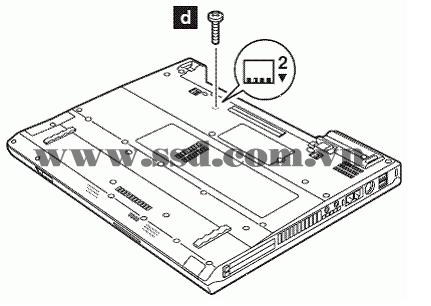 Hướng dẫn tháo lắp LAPTOP IBM™ ThinkPad T IBMp2_18