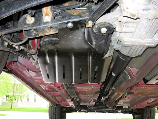 Защита картера DriversrearSkidPlate