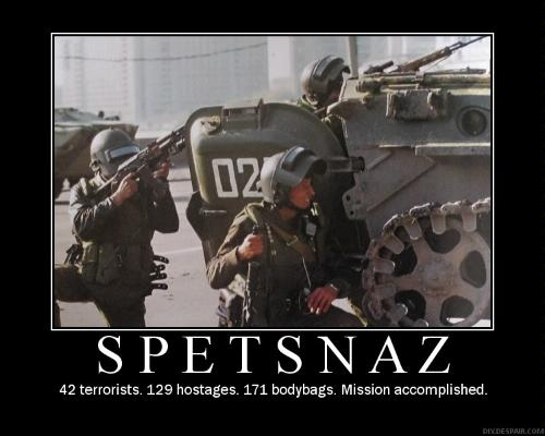 EJERCITO RUSO Spetsnaz