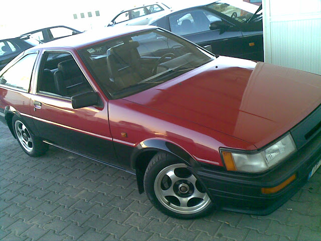Portugal AE86 with AE101 engine 4agze 20090922%28004%29