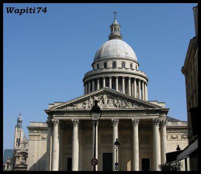 Une semaine printannière à Paris 25.Panth%C3%A9on