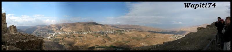 Jordanie : au pays des Nabatéens, des Grecs, des Croisés... et de Dame Nature ! 156%20Karak%20Panoramique