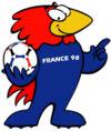 Điểm danh linh vật và biểu trưng của các kỳ World Cup từ năm 1966 100px-Masc1998