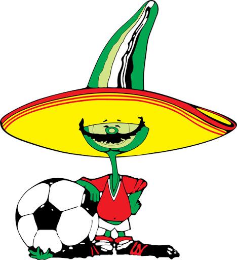 Điểm danh linh vật và biểu trưng của các kỳ World Cup từ năm 1966 Pique_mexico_86