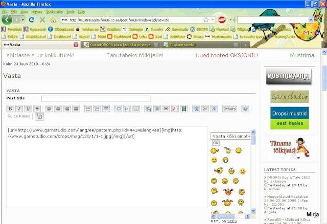 pilti - Kuidas lisada netialbumitest pilte siia foorumi postitusse Mozilla4