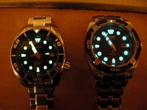 quelle est la montre dont les aiguilles se voient la nuit DSCN0966s