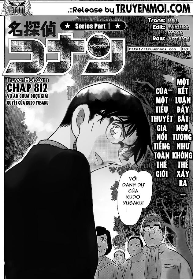 Conan Chap 812: Vụ Án Chưa Được Giải Quyết Của Kudo Yusaku 02