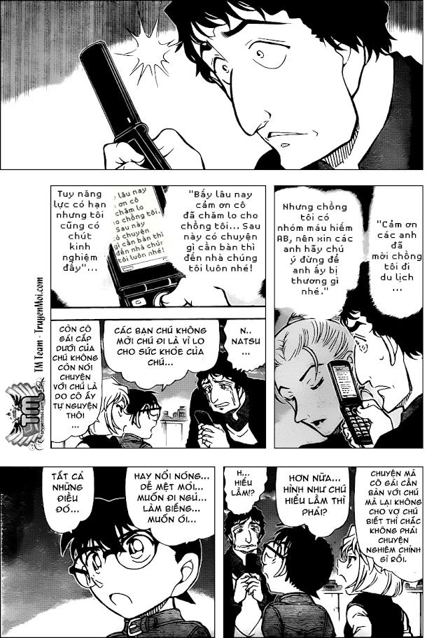 Conan Chap 803: Lời Giải Thích Dối Trá 13