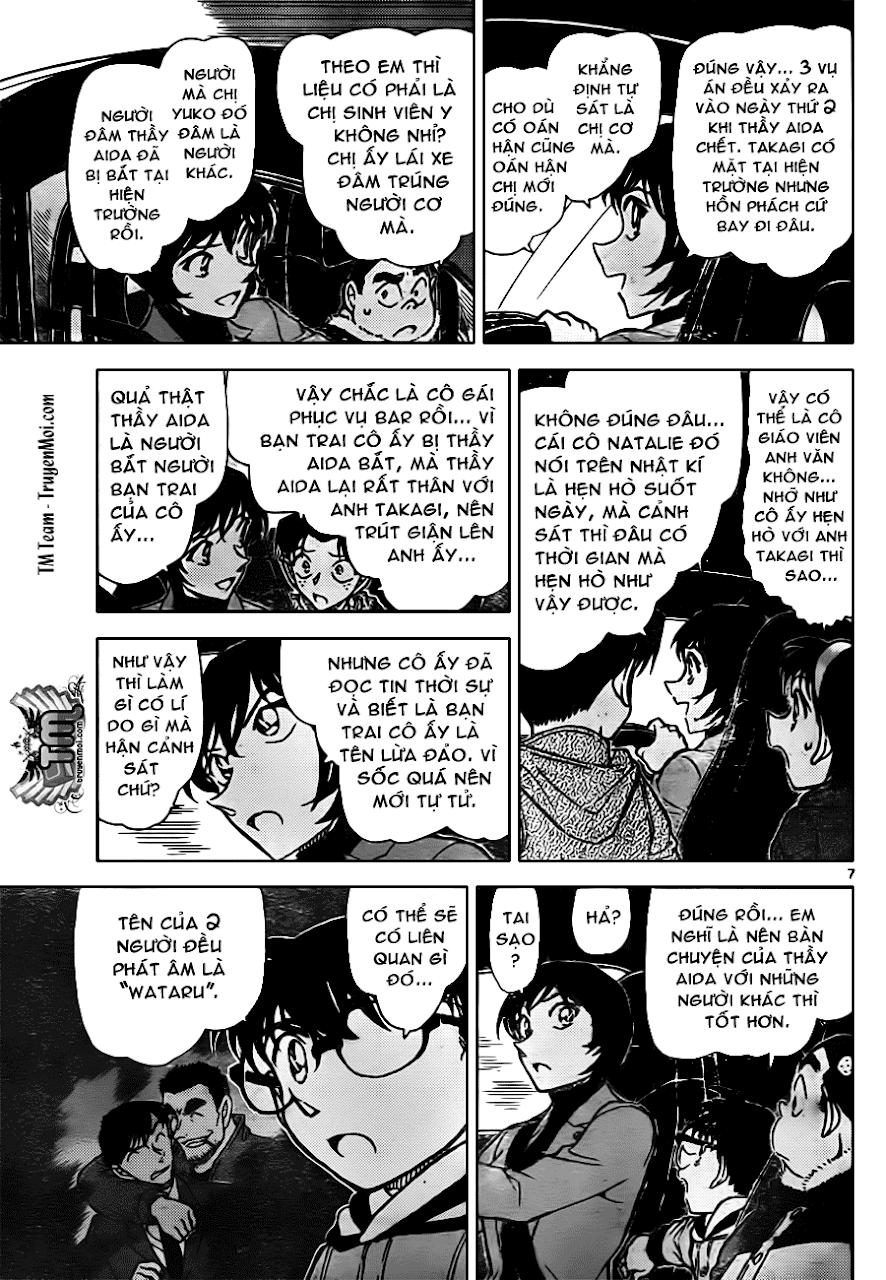 Conan Chap 806: Ý Chí Được Kế Thừa 07