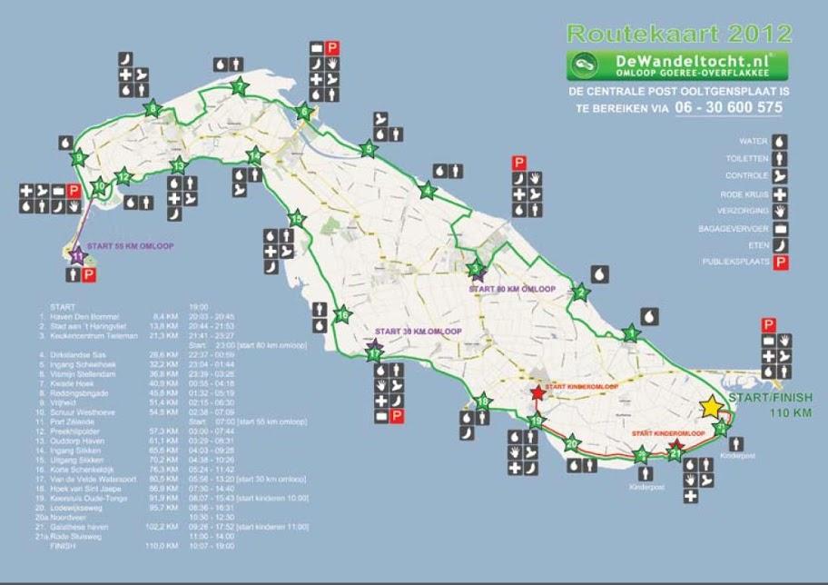 110/80/55/30km: Tour de Goere-Overflakkee;NL: 24-25/08/2012 Routekaart%25202012%2520nieuw