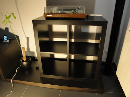 Estante Expedit Ikea, para arrumação de discos de vinil Estante7