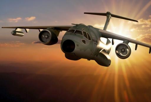 EMBRAER KC-390  KC-390-imagem-Embraer-580x393