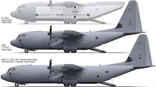 EMBRAER KC-390  AIR_C-130J_vs_C-130J-30_lg