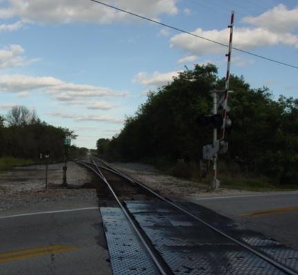 Down The Tracks MISCtrainBurlingtonElooking